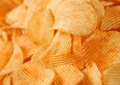 chips rebrasti paprika closeup