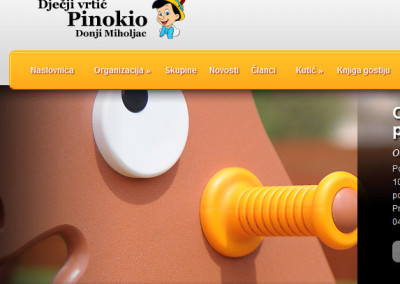 Childrens daycare Pinokio